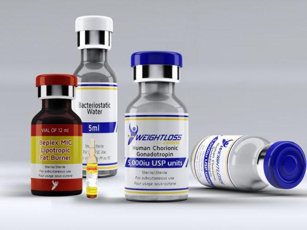 HCG Injection Fat Burner Kit